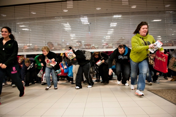 Black Friday Chaos 2012