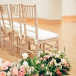 Wedding Flowers and Chairs