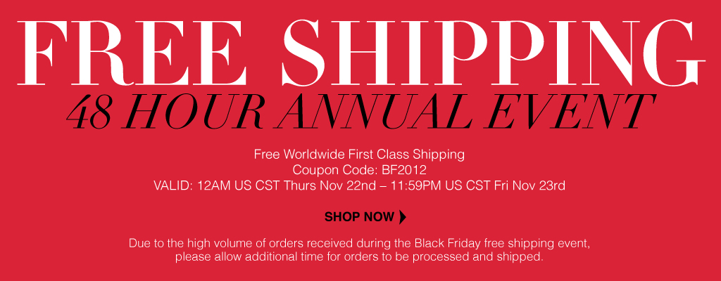 Sigma Black Friday Cyber Monday Free Shipping 2012